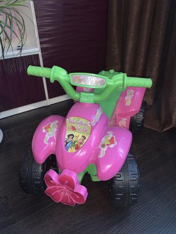 Детский электроквадрацикл!