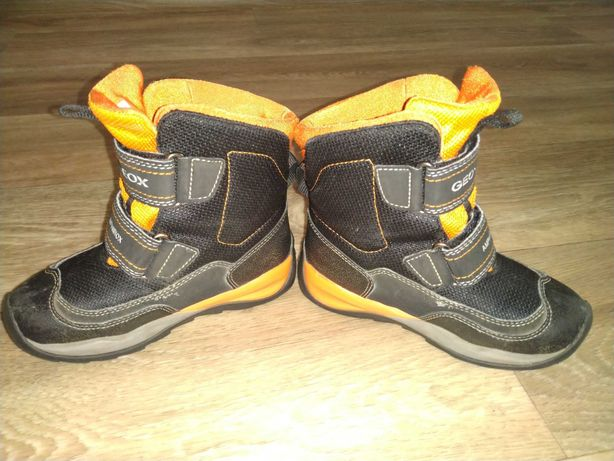 Ботинки зимние geox на мальчика р.27