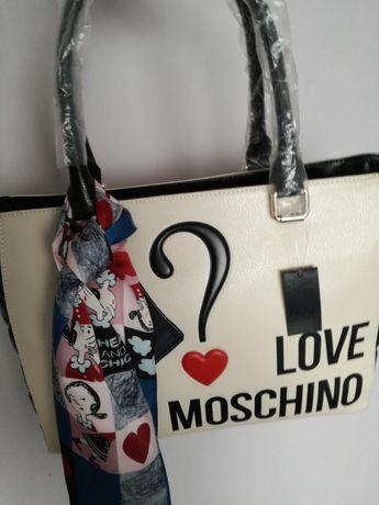 Love Moschino torebka nowa tous