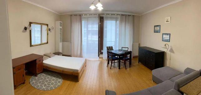 Apartament 44m2 z aneksem-MIASTECZKO WILANÓW-loggia,garaż,ul.Sarmacka