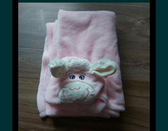 Kocyki niemowlece różowe calosc 20zl