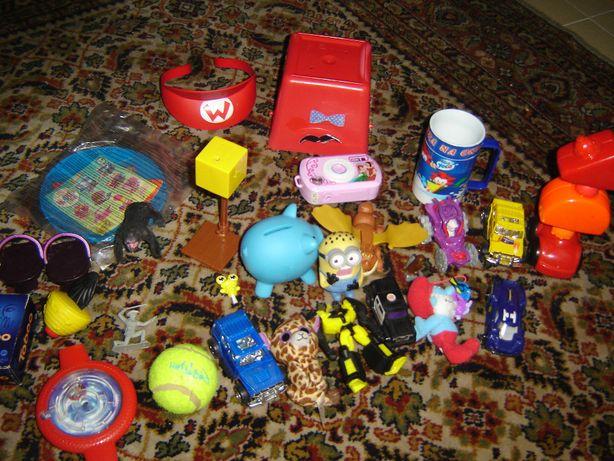 brinquedos do mcdonald´s e outros