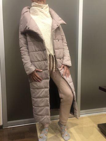 Пуховик-одеяло женский