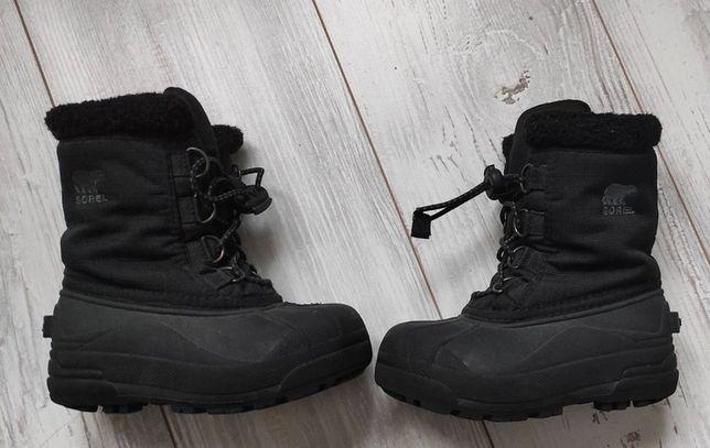 buty śniegowe Sorel śniegowce 26 czarne
