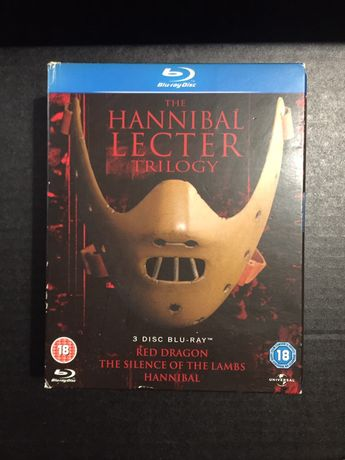 Blueray box set: Hannibal Lecter Trilogy