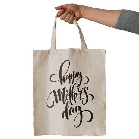 TORBA Z NADRUKIEM - 23 WZORY - Prezent na dzień matki dla mamy WYSYŁKA