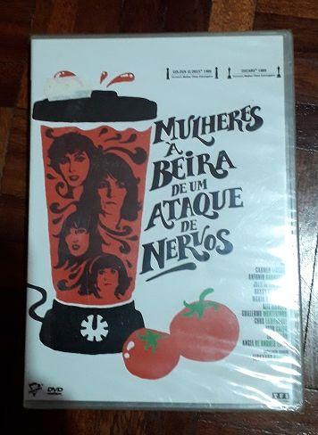 """DVD """"Mulheres à Beira de um Ataque de Nervos"""""""