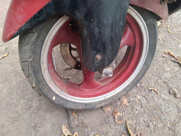 колеса на скутер, r13 130/60, r12 120/70 ціна за два