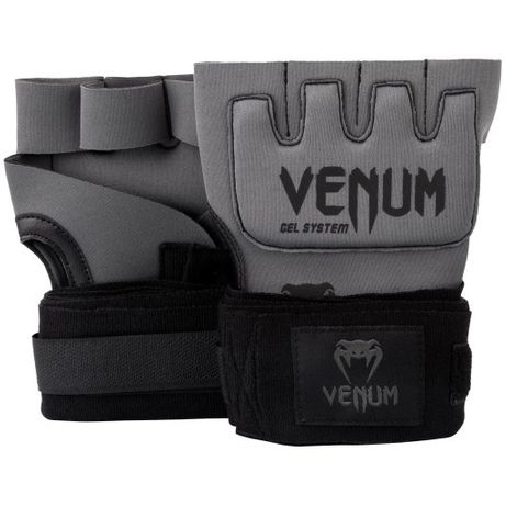 Venum Kontact - rękawice żelowe owijki boks fitness TRENINGOWE