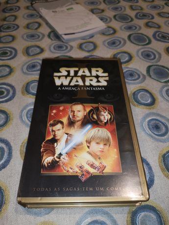 Star Wars Episódio I Ameaça Fantasma (VHS)