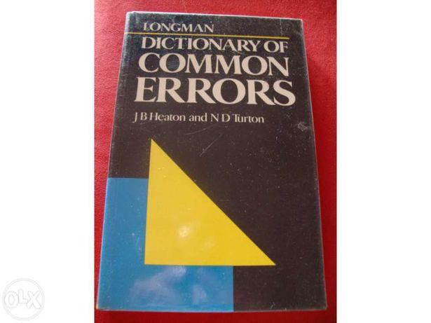 """""""Longman Dictionary of Common Errors"""""""