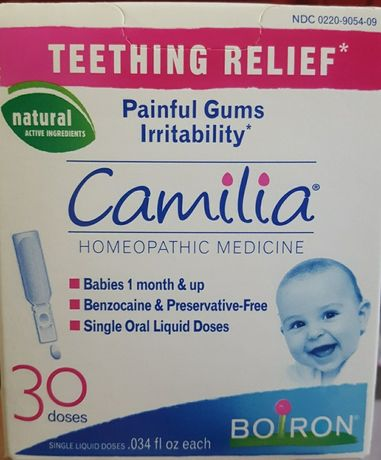 Boiron Camilia від зубів