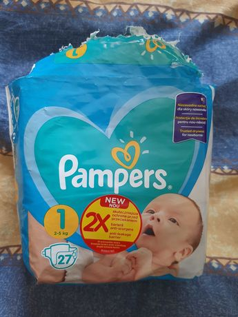Подгузники Pampers 1, 2-5 кг
