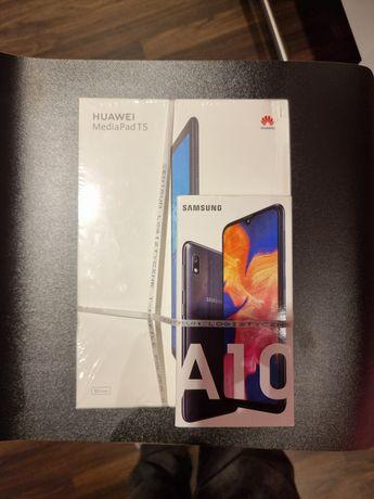 Samsung a10 + Huawei MediaPad T5 LTE 2GB/16GB