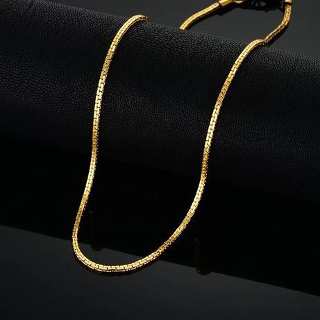 Złoty łańcuszek męski