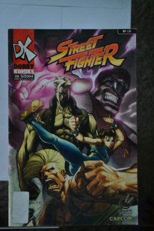 Komiks Street Fighter 5/2004