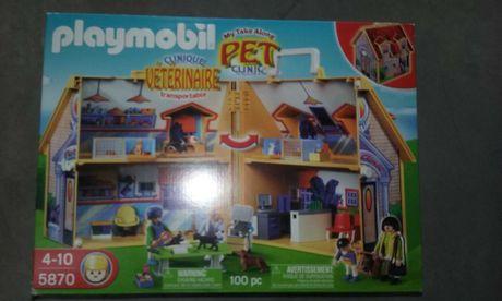 Playmobil - Clínica Veterinária Maleta – 5870