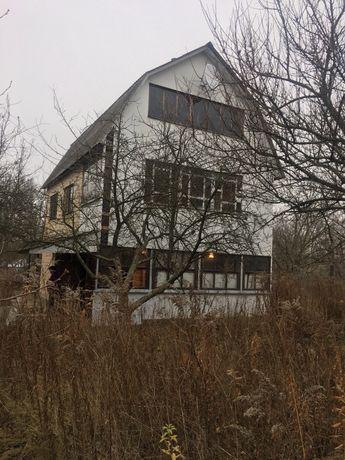 Участок с домом 150 м2 . 20 км от Киева