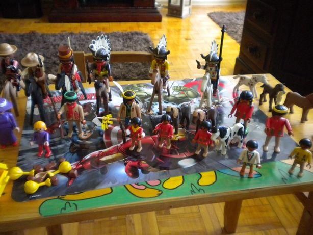 Klocki figurki Playmobil Indianie, konie, jak Lego