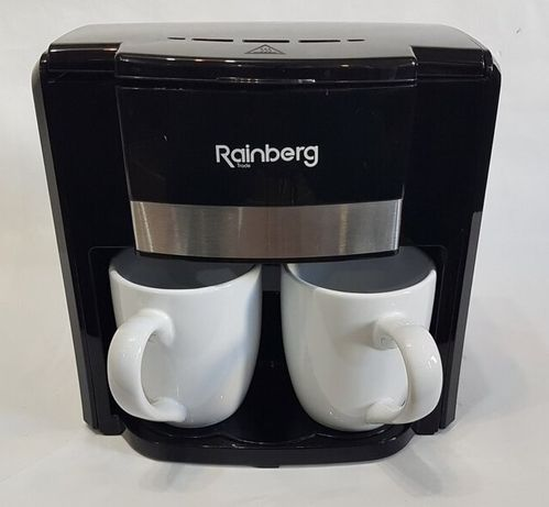 Кофеварка Съемный фильтр, Капельная на 500Вт на две чашки