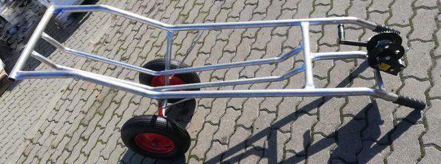 Wózek na padlinę ze stali nierdzewnej,z windą
