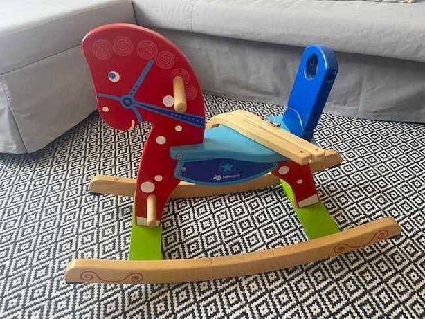 Cavalinho-baloiço de madeira - Imaginarium
