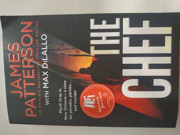 James Patterson The Chef англійською мовою, 374 стор.