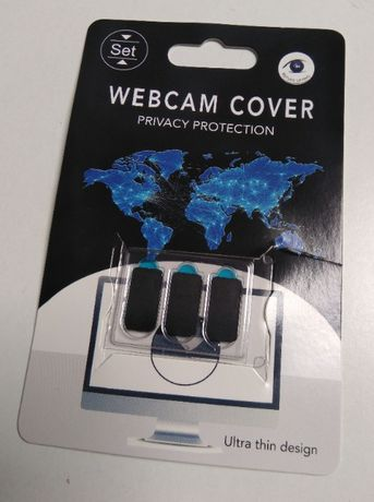 3 Protectores webcam, camara, cover, sticker
