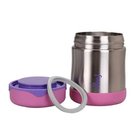 Термос детский для еды Thermos Stainless Steel Food Flask Pink 290 ml