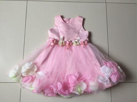 Детское нарядное платье Lucry Angel на девочку 3-4 года 98-104 рост