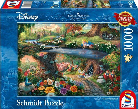 Nowe Puzzle 1000 Schmidt Alicja w krainie czarów