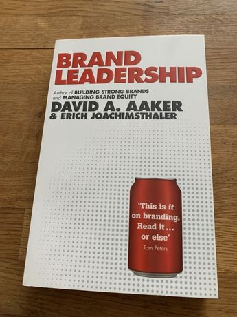 Brand leadership Aaker ksiazka reklama