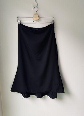 Czarna spódnica asymetryczna COS rozmiar 38