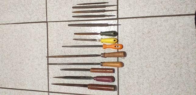 Komplet pilników do metalu