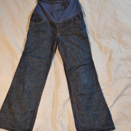 Spodnie jeansowe ciążowe L