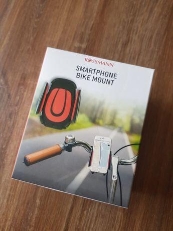 Nowy uchwyt na telefon do roweru.