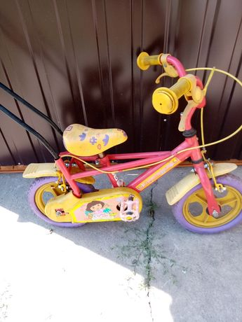 Rowerek dla dziewczynki Dora