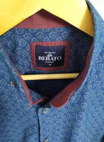 Koszula męska Bebato slim fit M