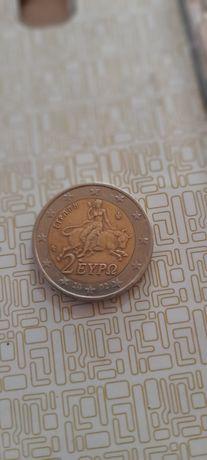 Moeda 2 euro rara