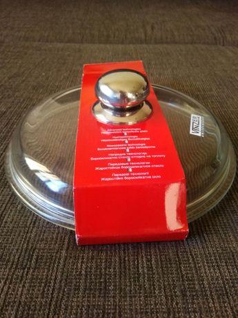 Универсальная стеклянная крышка vinzer, 22 см, швейцария