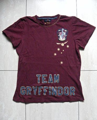 Bordowa koszulka t-shirt Harry Potter Gryffindor 36,S/38,M Hogwart
