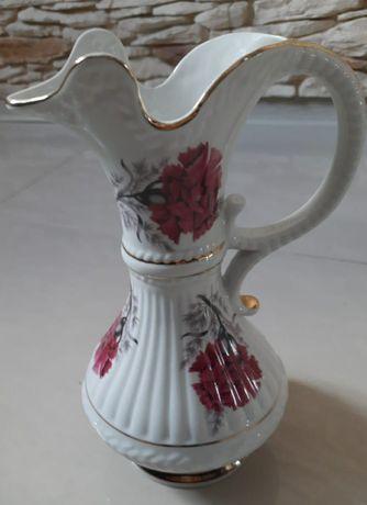 Piękny wazon porcelana Chodzież. STARY