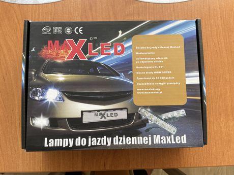 Lampy do jazdy dziennej LED Maxled Vinstar 506