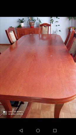 Rozkladany stol z 6 krzeslami
