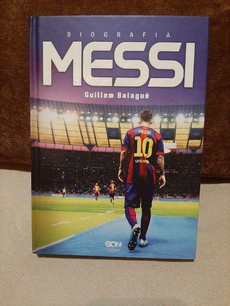 """Książka """"Messi"""" - Guilem Balague (wydawnictwo SQN)"""