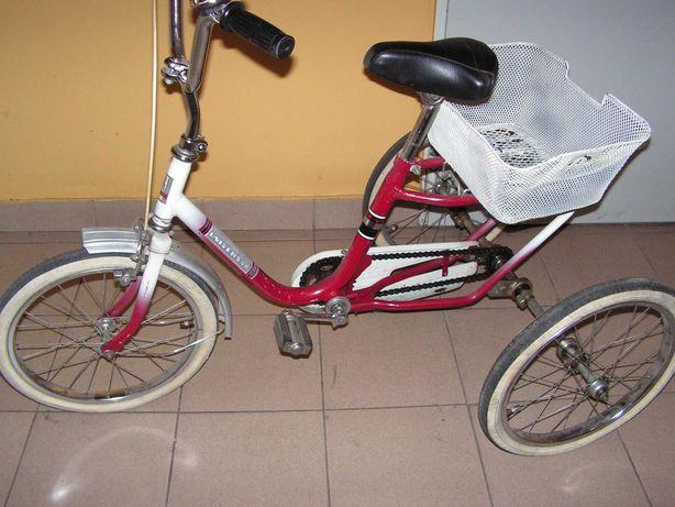 Rower trójkołowy Dreirad koła 18 cali