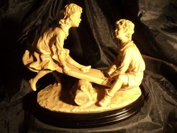 Статуэтка фарфоровая 24см из Франции старина антиквариат бисквит керам