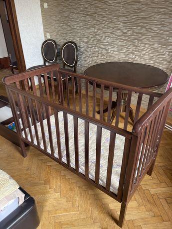 Детская кровать с маятниковым механизмом Верес Соня