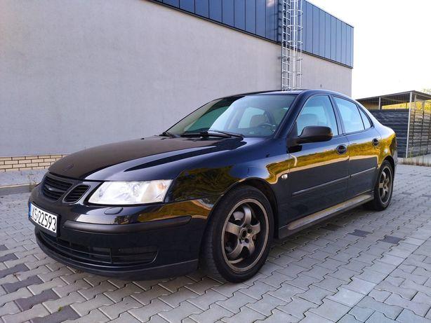 Saab 9-3  2.0 Turbo+Gaz 2002r. Przegląd na rok Jasny środek Zamiana