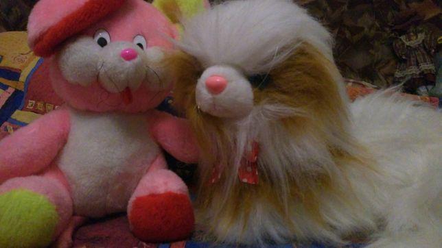 Новые мягкие игрушки большие кот и мышка цена каждой 70 грн
